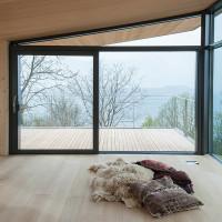 Casa sulle Alpi, panoramica ed eterea