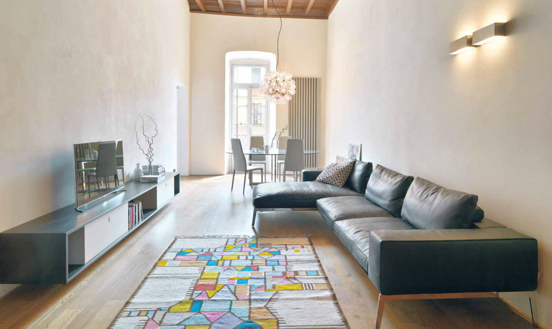Ristrutturazione di un appartamento a tutta luce for Un appartamento