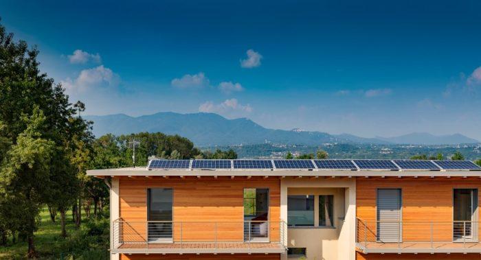 Casa passiva la scelta ideale su misura ville casali for Progettazione passiva della cabina solare