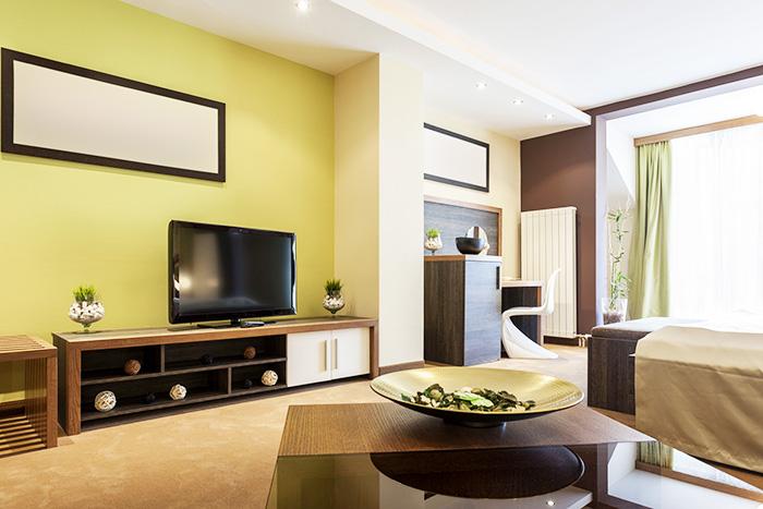 I colori secondo il feng shui ville casali for Concetti di soggiorno