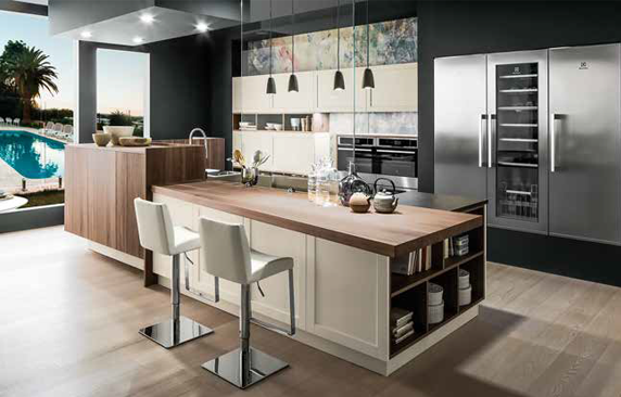 Cucine 2017 stile contemporaneo tra funzionalit e design ville casali - Cucine moderne 2017 ...