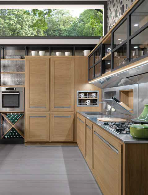 Cucine 2017, stile contemporaneo tra funzionalità e design ...