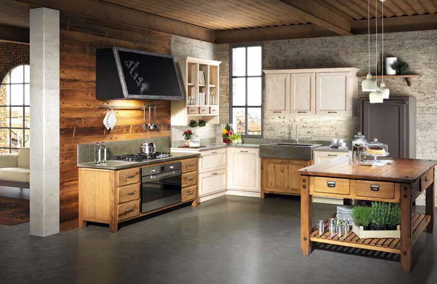 nuove cucine living e fornelli in un spazio ville casali