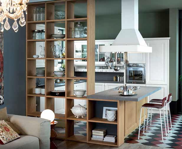 Nuove cucine: living e fornelli in un spazio | Ville&Casali