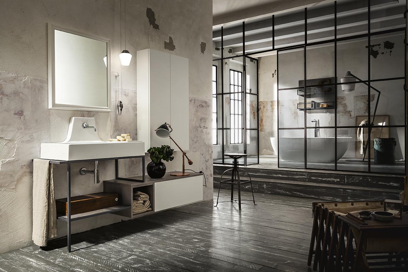 Arredamento bagno stile Urban: Play di Cerasa - Ville & Casali