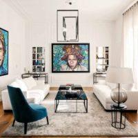 Stile italiano per un appartamento a Milano