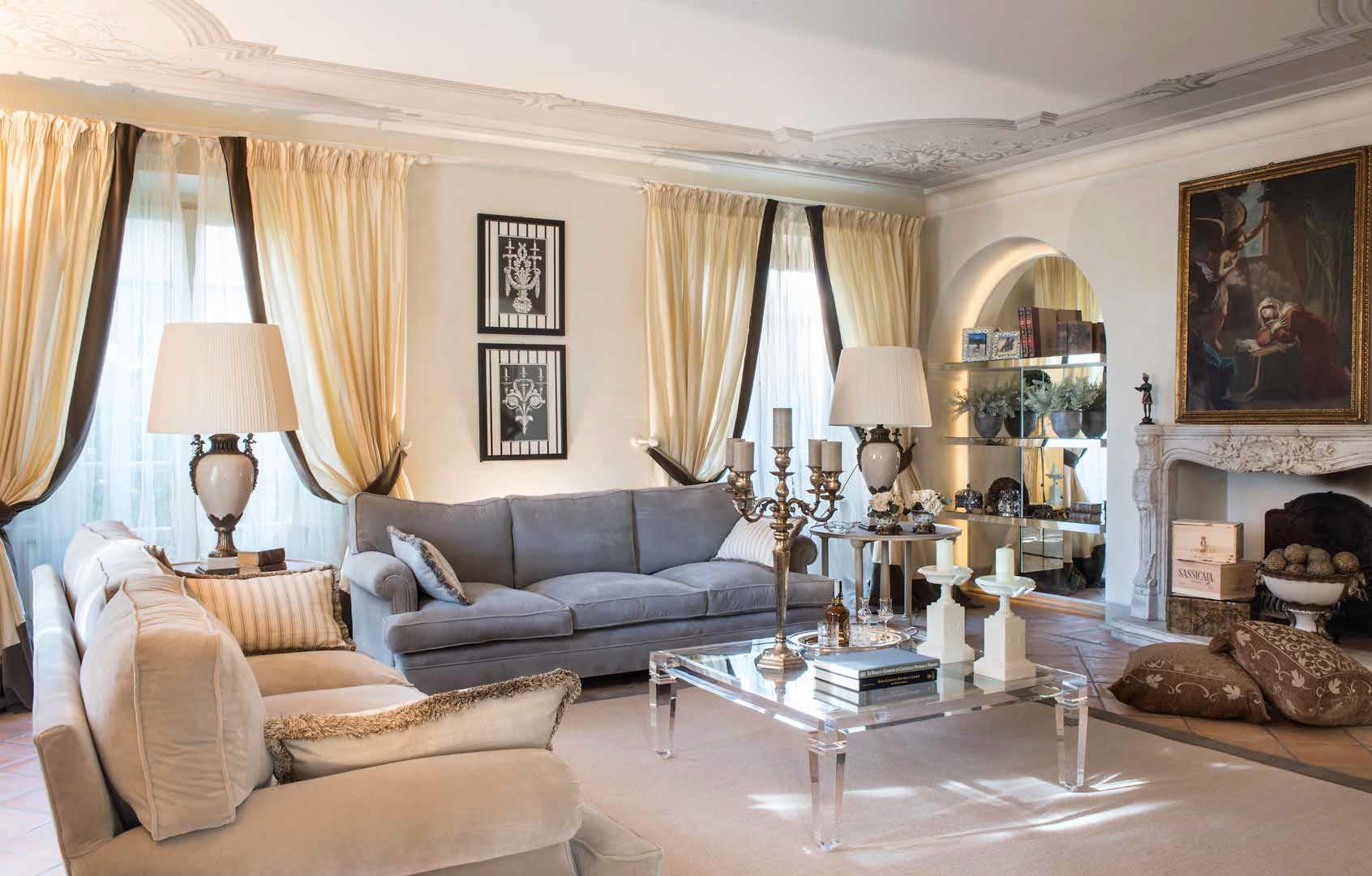 Villa signorile in versilia una casa che rinasce ville for Siti di interior design