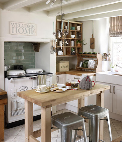 Arredare la cucina in stile country | Ville&Casali