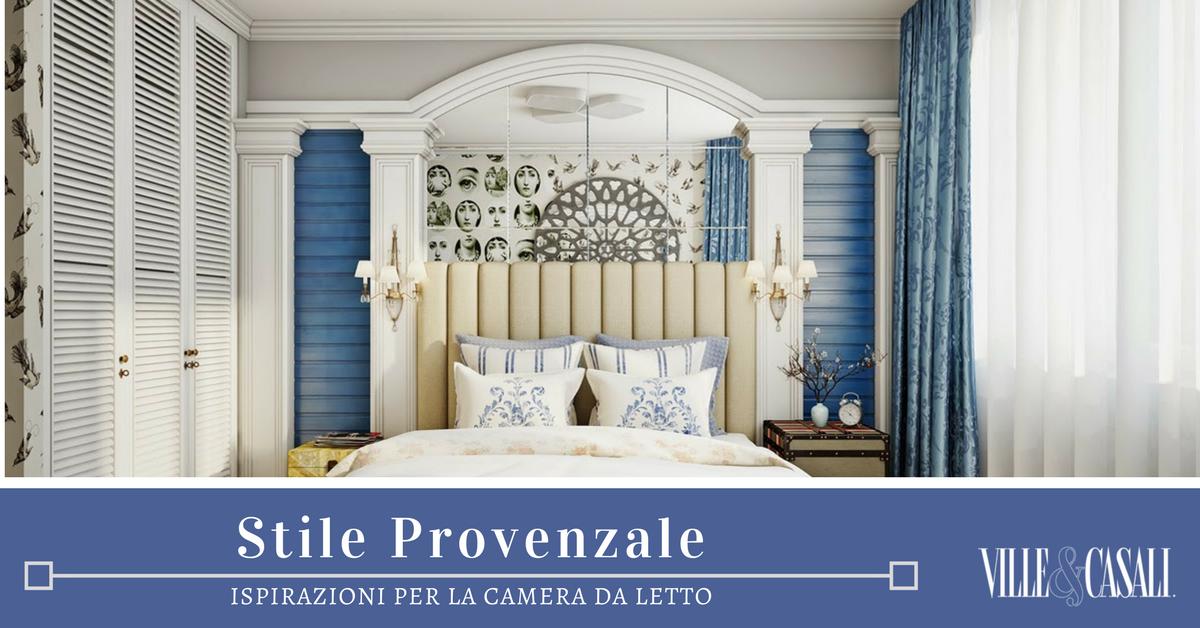 Arredamento provenzale in camera da letto ville casali - Arredamento ville e casali ...