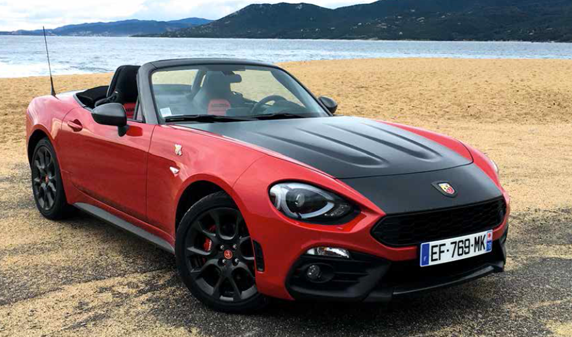 motori abarth 124 spider ville casali. Black Bedroom Furniture Sets. Home Design Ideas
