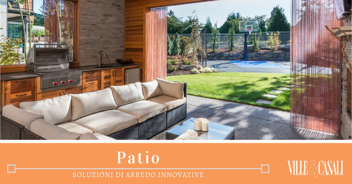 Idee Per Arredare Il Patio : Come arredare il patio ville&casali