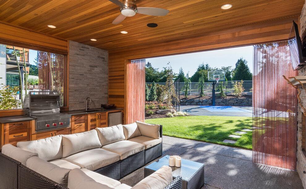 Come arredare il patio ville casali for Cost of outdoor living space