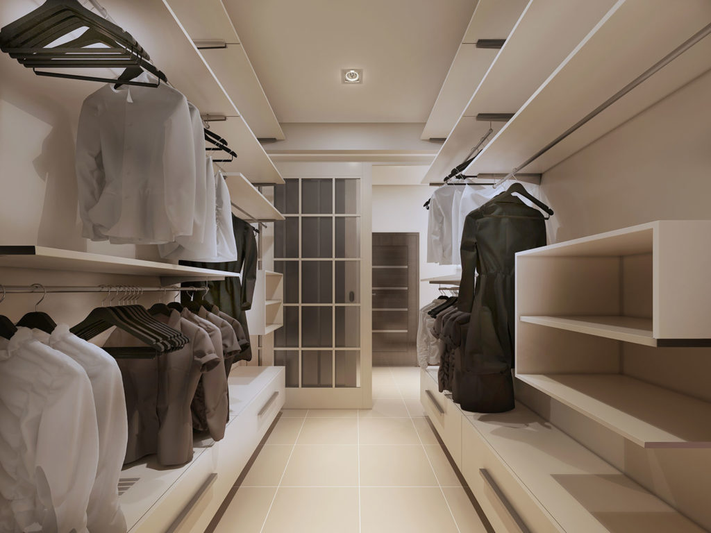 Cabina Armadio A Parete : Come progettare la cabina armadio su misura ville&casali