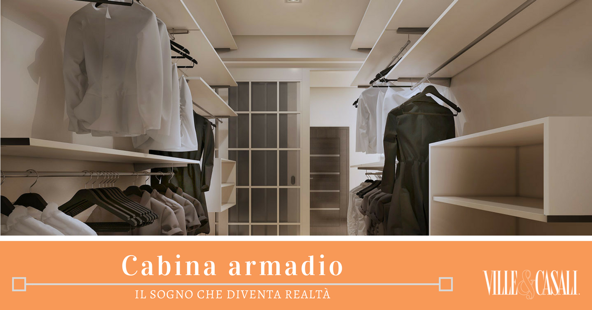 Come progettare la cabina armadio su misura ville casali - Interno cabina armadio ...