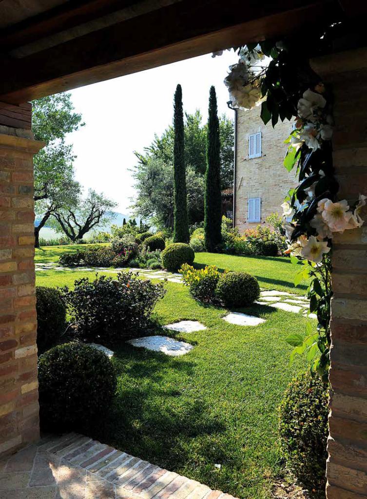 giardino a stanze