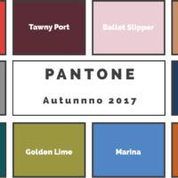 I colori dell'arredamento nell'autunno 2017 secondo Pantone