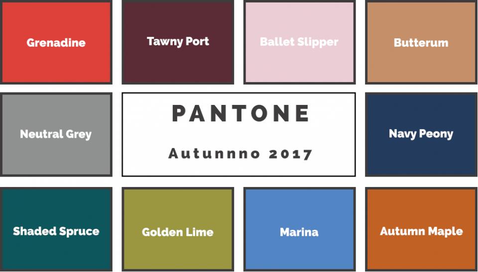 Pantone autunno 2017 i colori dell 39 arredamento ville casali for Colori arredamento 2017