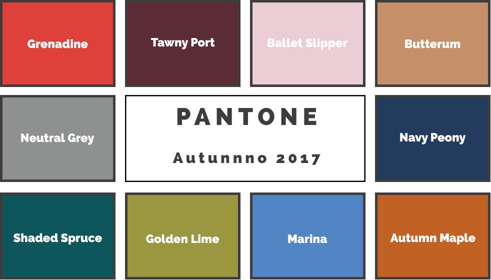 Pantone autunno 2017 i colori dell 39 arredamento ville casali for Arredamento 2017