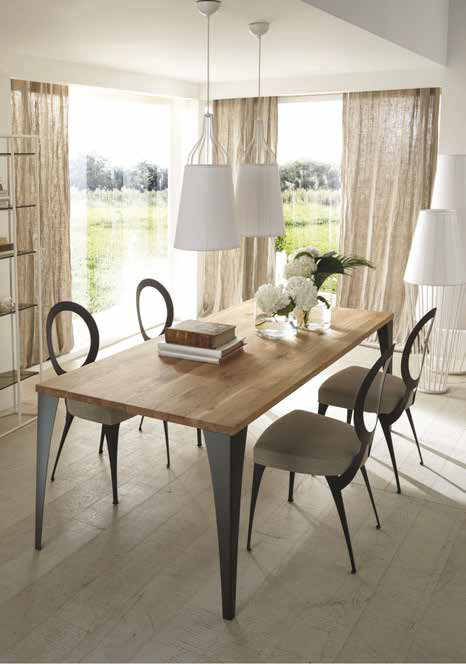 La versatilit dei tavoli da pranzo ville casali for Tavoli design occasioni