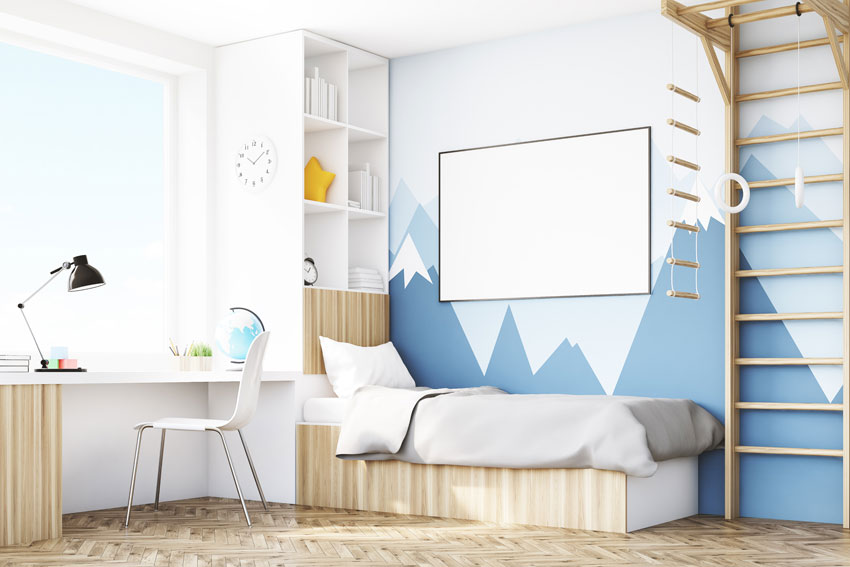 7 Inspiring Kid Room Color Options For Your Little Ones: Soluzioni Salvaspazio Per Arredare La Camera Dei Ragazzi