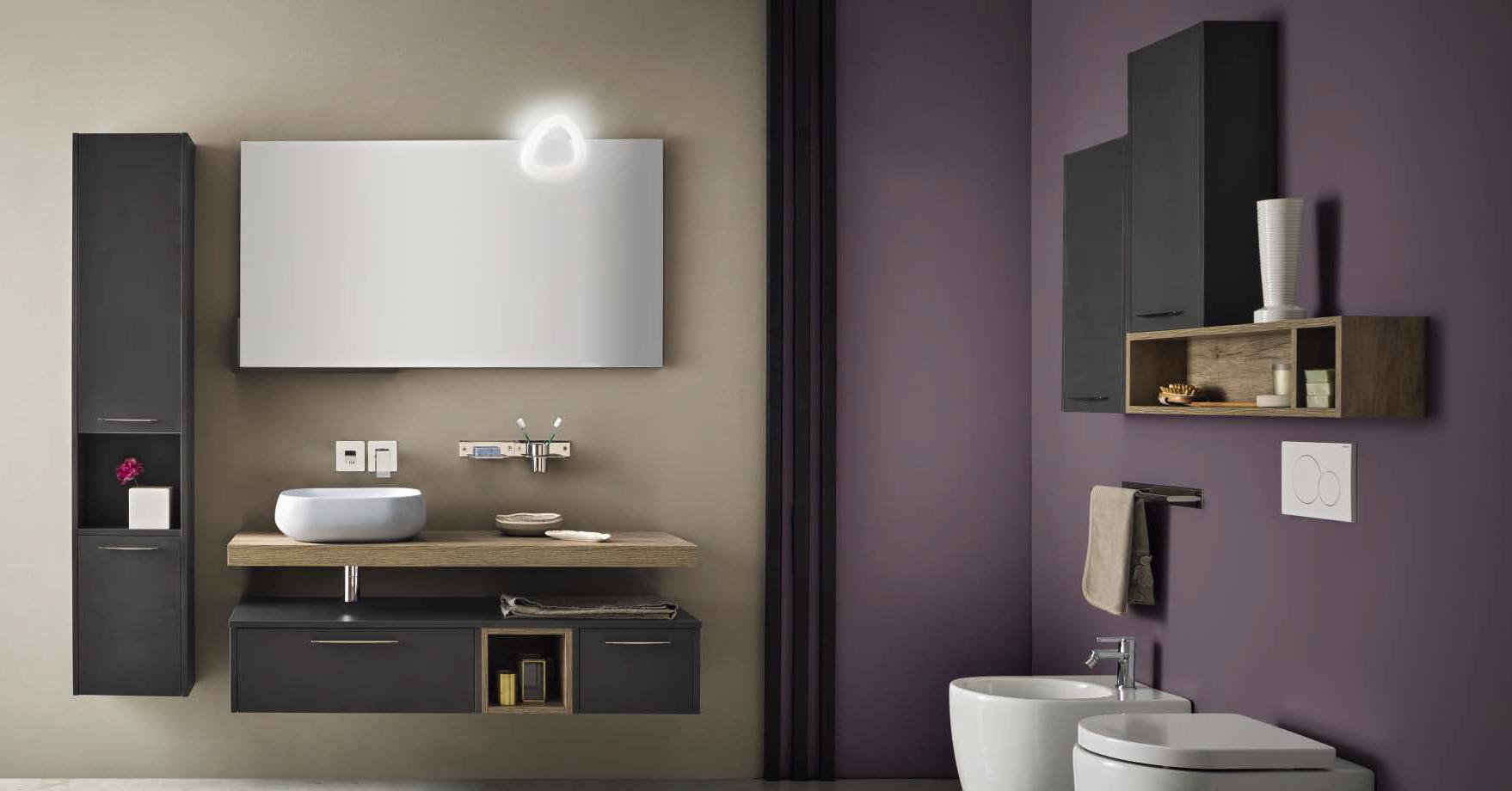 Velvet nuova collezione componibile per l arredo bagno ville casali