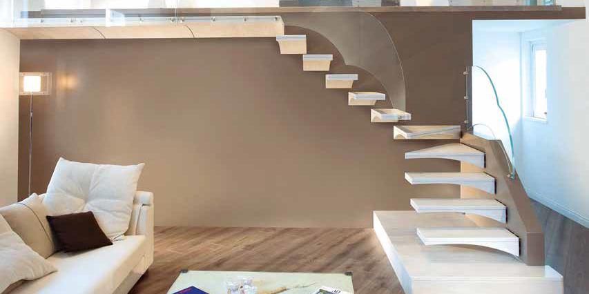 Lo stile delle scale da interni che caratterizza la casa for Arredare scale interne