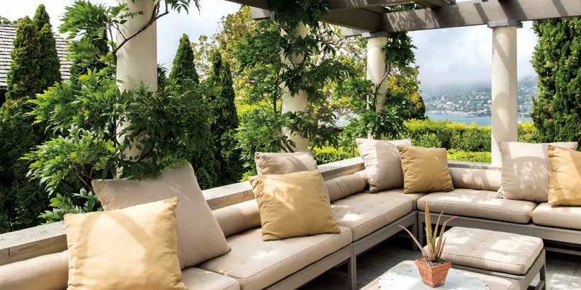 Belvedere il restauro di una villa sull 39 isola di san for Fare una villa