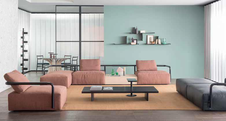 I nuovi divani modulari: il complemento d\'arredo perfetto