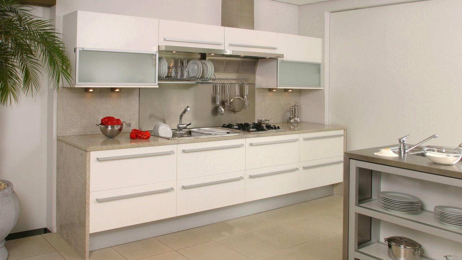 Come Organizzare Una Cucina Funzionale. Cucina Piccola E Funzionale ...