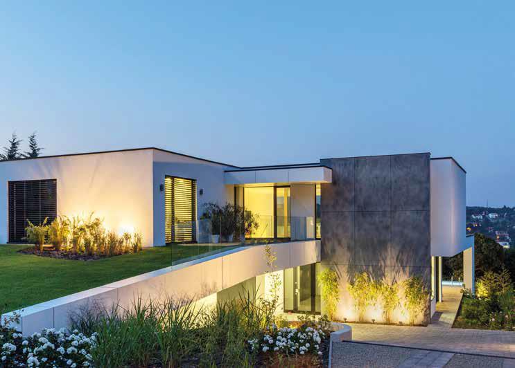 progetto villa budapest