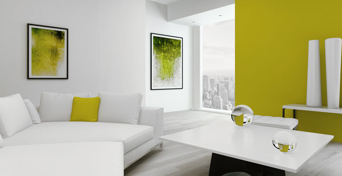 Dipingere le pareti di casa come fare la scelta giusta ville casali - Colorare le pareti del soggiorno ...
