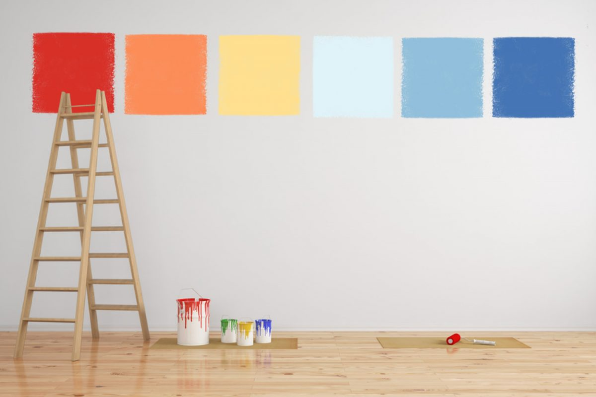 Dipingere le pareti di casa come fare la scelta giusta - Come dipingere le pareti di casa ...