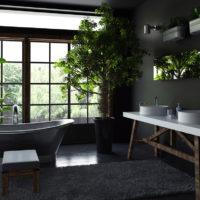Consigli e idee per creare uno stile rustico in bagno