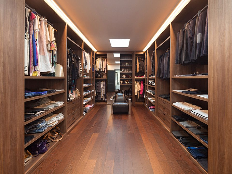 Cabina armadio: come organizzarla per lui e per lei ville&casali