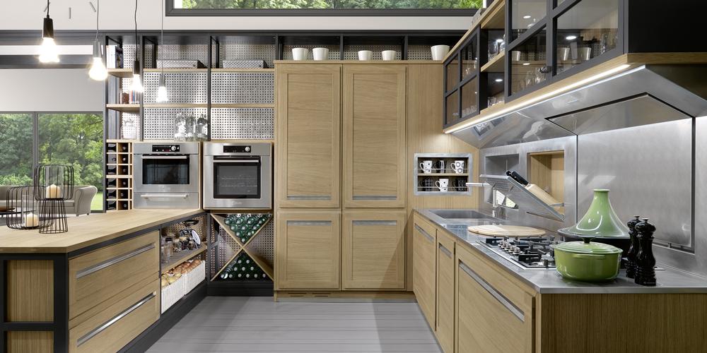 I benefici di una cucina in legno   Ville&Casali