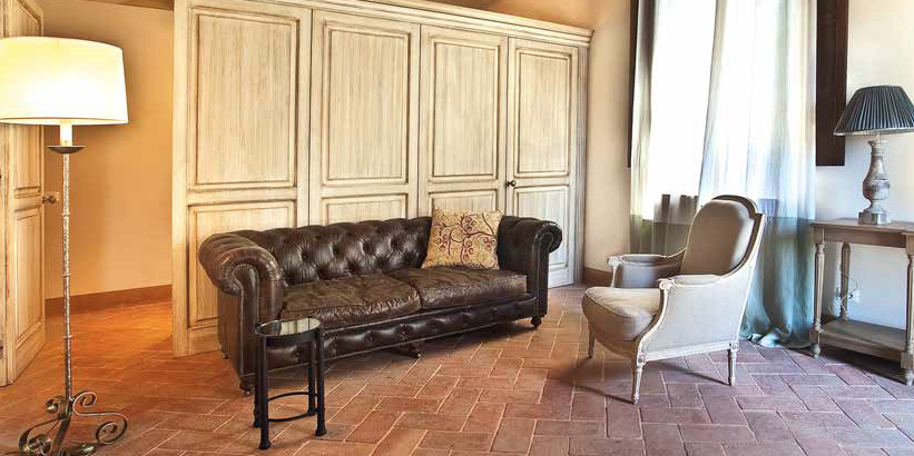 Il cotto toscano antica tradizione italiana ville casali for Cotto toscano prezzi