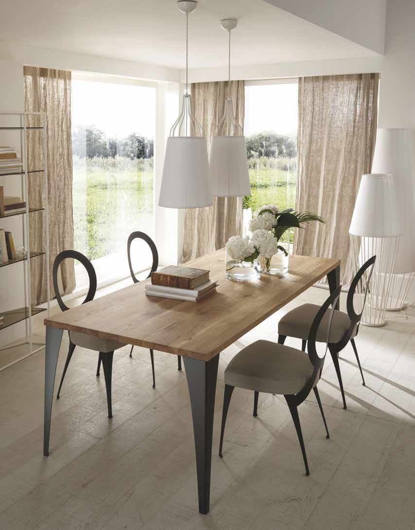 Tavoli da pranzo in legno la certezza per arredamento d for Tavoli da pranzo in legno