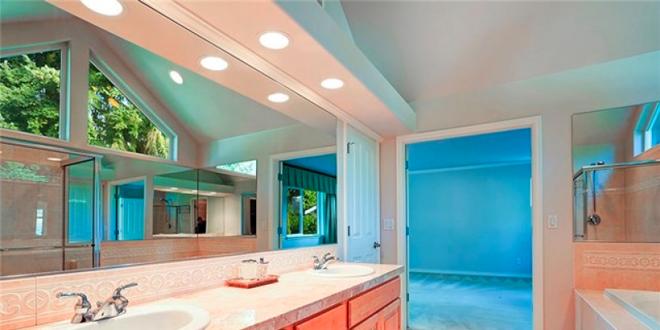 Scegliere l\'illuminazione adatta per il bagno - Ville&Casali