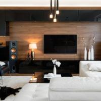 Illuminazione: combinare le luci in un soggiorno moderno