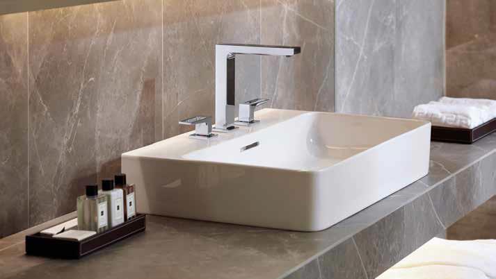 Rubinetti per un bagno di design ma dall 39 anima green ville casali - Rubinetti per bagno ...
