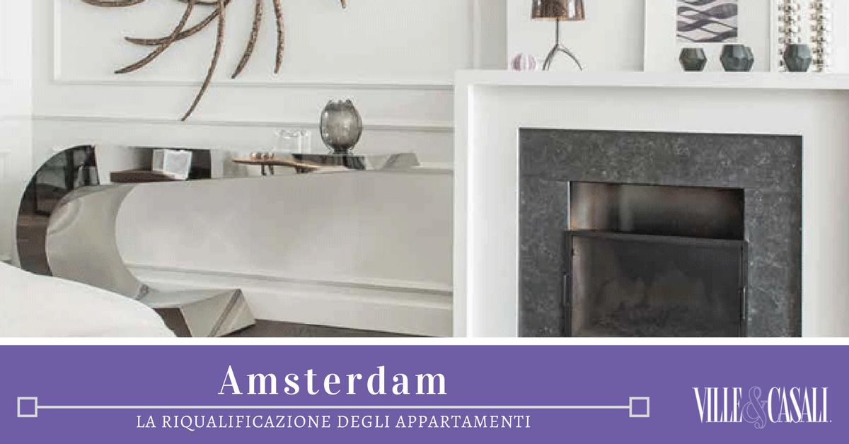La riqualificazione degli appartamenti di amsterdam for Appartamenti amsterdam centro