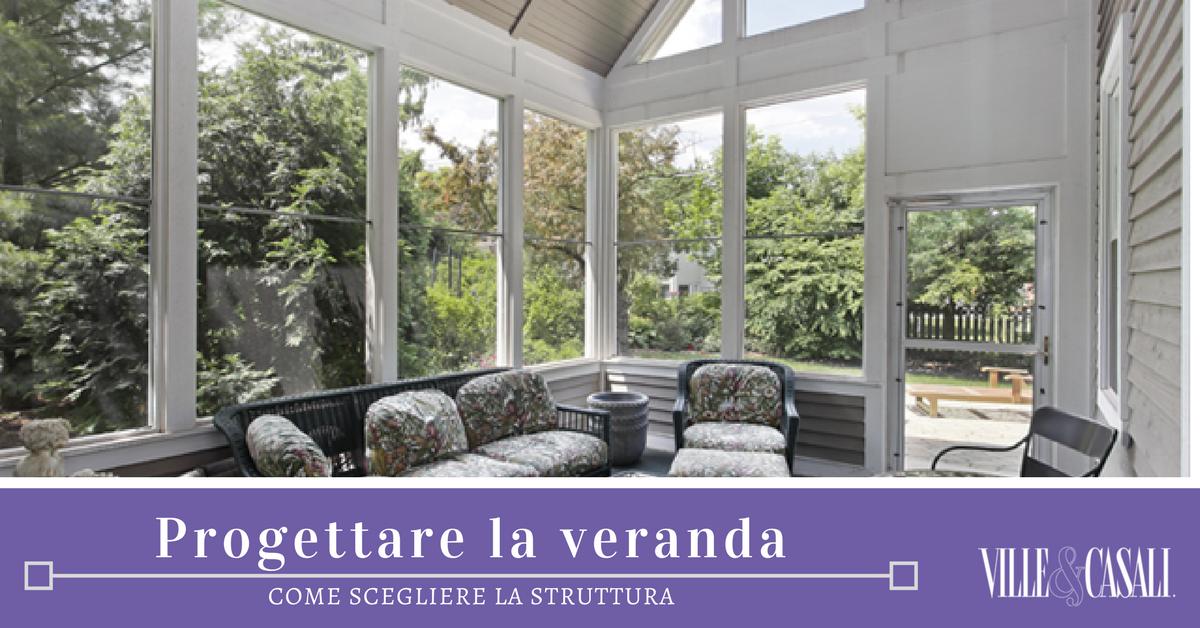 Progetto veranda great luintero progetto abitativo for Piccola casa con veranda
