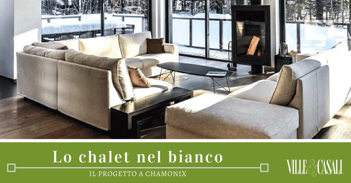 Il progetto dello chalet immerso nel bianco - Ville&Casali