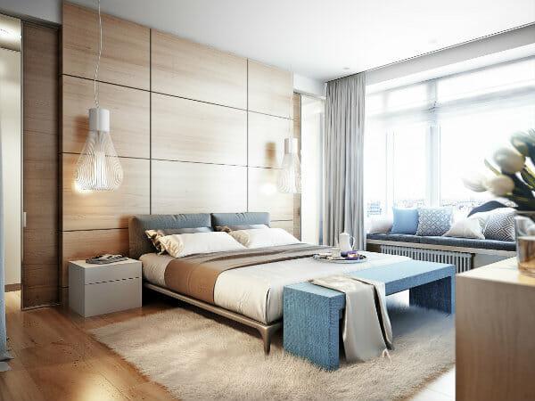 Come scegliere l\'illuminazione per la camera da letto - Ville&Casali
