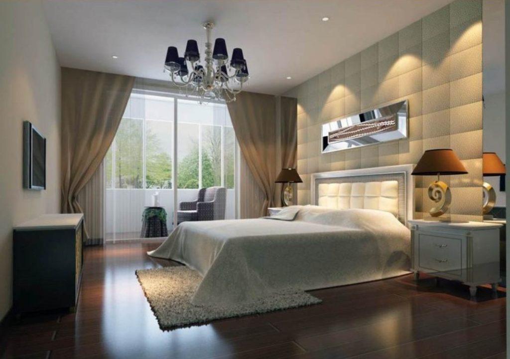 Come scegliere l 39 illuminazione per la camera da letto ville casali - Lampadari stanza da letto ...