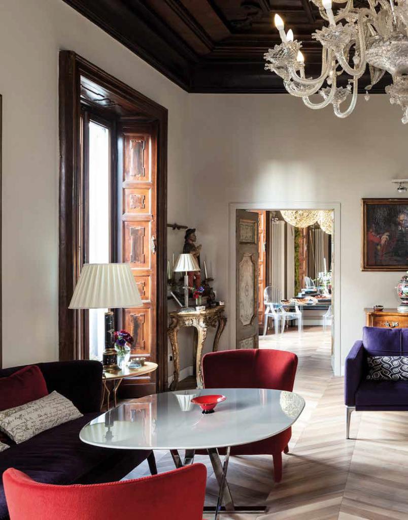 Il barocco torna contemporaneo ville casali for Arredamento contemporaneo