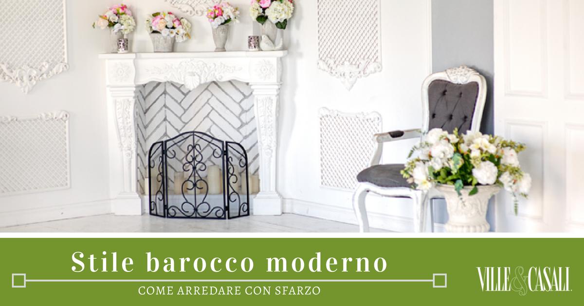 I consigli per arredare in stile barocco moderno ville for Arredamento stile barocco moderno
