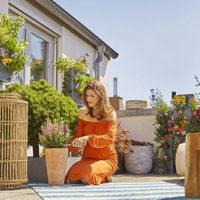 Come creare un vero giardino sul balcone