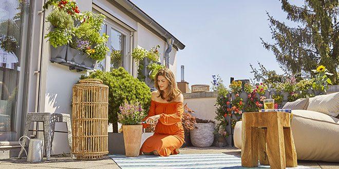 Come creare un vero giardino sul balcone ville casali - Creare un giardino sul balcone ...