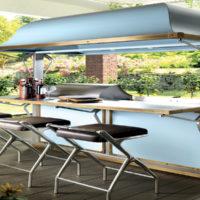 Cucine outdoor: le nuove proposte sono funzionali e tecnologiche